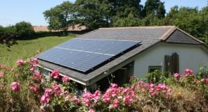 solar pv, north huish, totnes